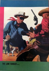 Verso de Lone Ranger (The) (Gold Key - 1964) -2- Wanted Dead or Alive