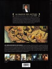 Verso de Les mésaventures du roi Midas - Les Mésaventures du roi Midas