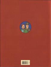 Verso de Blake et Mortimer -25TL- La Vallée des Immortels - Tome 1 - Menace sur Hong Kong