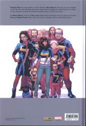 Verso de Ms. Marvel -8- Génération perdue