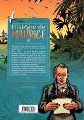 Verso de Histoire de Maurice -2- 1767-1885, L'expansion d'une colonie très convoitée