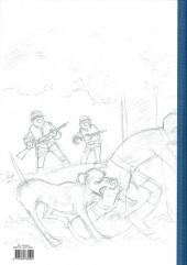 Verso de Les tuniques Bleues -62TL- Sallie