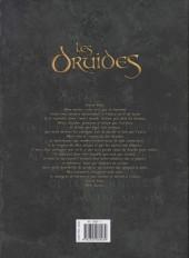 Verso de Les druides -INT2- Intégrale Tomes 7 à 9