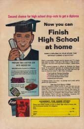 Verso de Teen Confessions (1959) -70- Teen Confessions #70