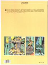 Verso de Les eaux de Mortelune -4a2000- Les yeux de Nicolas