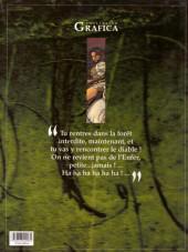 Verso de Le roman de Malemort -1a2001- Sous les cendres de la lune