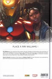 Verso de Invincible Iron Man : Ironheart -1- Naissance d'une héroïne