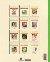 Verso de Hergé - Le Feuilleton intégral -8- 1938 - 1940