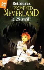 Verso de Promised Neverland (The) -1Extrait- Grace field house