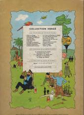 Verso de Tintin (Historique) -18B29- L'affaire Tournesol