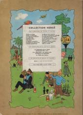 Verso de Tintin (Historique) -11B27- Le Secret de la Licorne