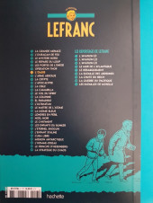 Verso de Lefranc - La Collection (Hachette) -7- L'Oasis