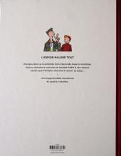Verso de Spirou et Fantasio (Une aventure de.../Le Spirou de...) -14ES- L'Espoir malgré tout - Première partie - Un mauvais départ