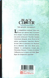 Verso de Black Clover -15- Tome 15