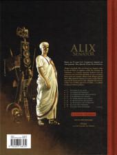 Verso de Alix Senator -8TL- La Cité des poisons
