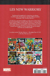 Verso de Marvel Comics : Le meilleur des Super-Héros - La collection (Hachette) -75- Les new warriors