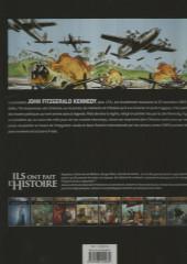 Verso de Ils ont fait l'Histoire -18FL- Kennedy