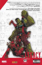 Verso de Marvel Legacy - Deadpool (Marvel France - 2018) -5TL- Ex-Man