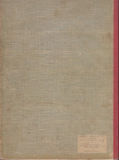 Verso de (Recueil) Spirou (Album du journal) -65'- Spirou album du journal