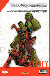 Verso de Marvel Legacy - Deadpool (Marvel France - 2018) -5- Ex-man