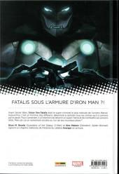 Verso de Infamous Iron Man -1- Rédemption