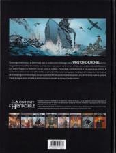 Verso de Ils ont fait l'Histoire -29- Churchill - Tome 2/2