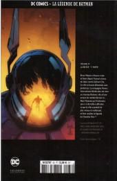 Verso de DC Comics - La légende de Batman -3378- LA Relève - 1re partie