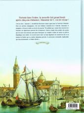 Verso de Giacomo C. - Retour à Venise -2- Tome 2 - Le maître d'école