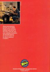 Verso de (AUT) Ross (en anglais) -SP- Wizard Millenium: Alex Ross
