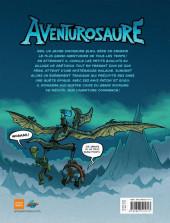 Verso de Aventurosaure -1- Le réveil de Rex