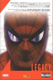 Verso de Marvel Legacy - Spider-Man (Marvel France - 2018) -6- Le contrat