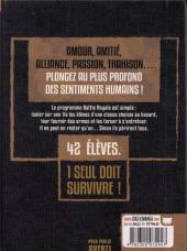Verso de Battle Royale -INT3- Volume 3 - Ultimate Edition