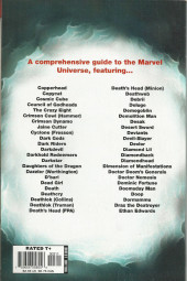 Verso de All-New official handbook of the Marvel universe A to Z (2006) -3- Copperhead to Ethan Edwards