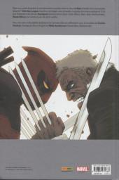 Verso de Deadpool vs Old Man Logan - Le Clown et le vieux