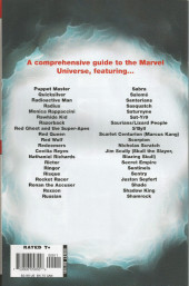 Verso de All-New official handbook of the Marvel universe A to Z (2006) -9- Puppet Master to Shamrock