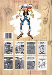 Verso de Lucky Luke -12b85- Les cousins Dalton