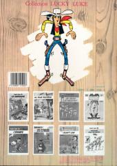 Verso de Lucky Luke -15b1986- L'évasion des Dalton