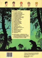 Verso de La patrouille des Castors -20b1986- El Demonio