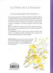 Verso de (AUT) Sfar - Les fables de La Fontaine