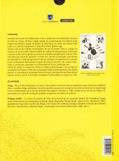 Verso de Tintin - Divers -2- Les Tribulations de Tintin au Congo