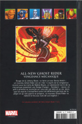 Verso de Marvel Comics - La collection (Hachette) -124100- All-New Ghost Rider - Vengeance Mécanique