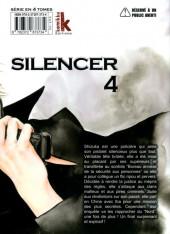 Verso de Silencer -4- Vol. 04