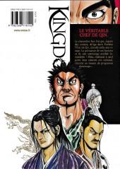 Verso de Kingdom -10- Le véritable chef de Qin