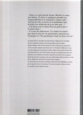 Verso de Le chalet bleu - Tome TL