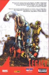 Verso de Marvel Legacy - X-Men (Marvel France - 2018) -6TL01- Hurlements