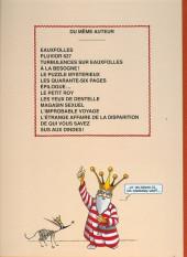 Verso de La nef des fous -9TL- Sus aux dindes