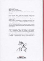 Verso de (AUT) Gotlib - Entretiens avec Gotlib