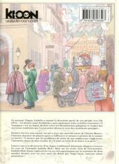 Verso de Isabella Bird, Femme exploratrice -5- Tome 5