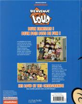 Verso de Bienvenue chez les Loud -3- Tome 3