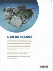 Verso de L'or de France -INT- Intégrale